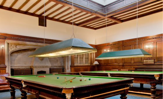Snooker Room Oxford Union